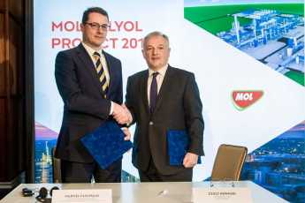 Skupina MOL uzavřela se společností thyssenkrupp smlouvy o řízení, nákupu a výstavbě
