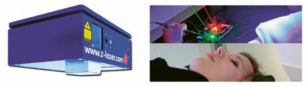 Obr. 4: Laserový projektor 2D/3D LP-HFD 300 od Z-Laser Optoelektronik