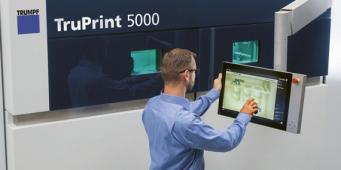 Start procesu u tiskárny TruPrint 5000
