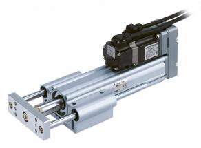 Pístnicový elektrický pohon s vedením a AC servo motorem, řada LEY G
