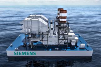 První plovoucí elektrárna by mohla začít fungovat již okolo roku 2020.