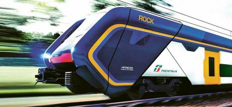 Skvělý design patrových jednotek Hitachi Caravaggio pro Trentitalia s kompozitovou karoserií