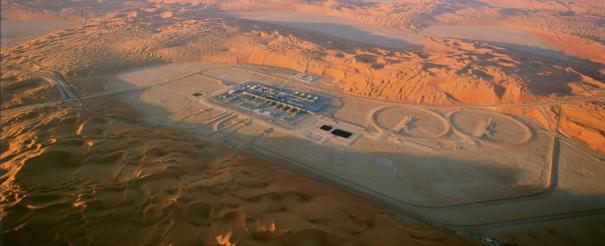 Ropná rafinérie Shaybah na jihovýchodě Saúdské Arábie /Foto: Saudi Amraco/