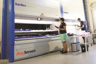 Po digitalizaci výroby zavedl Ray Service Průmysl 4.0 také do skladů