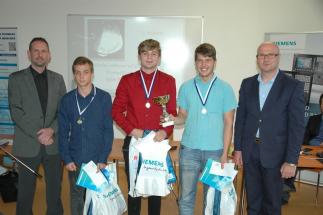 Vítězem letošního ročníku soutěže Siemens Sinumerik Cup, ve kterém se pravidelně utkávají týmy partnerských středních škol a učilišť v CNC programování
