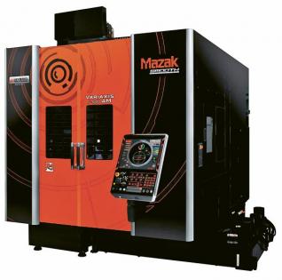 Aditivní výroba je z hlediska výroby budoucnosti jedním z největších témat. Velkou perspektivu mají bezesporu tzv. hybridní obráběcí stroje, které v sobě kombinují konvenční obrábění s aditivními technologiemi. Úplnou novinkou na letošním JIMTOFu byl na světě první hybridní stroj s modrým laserem. VARIAXIS j-600/5X AM od Yamazaki Mazak umožňuje díky této unikátní technologii výrobu součástí z čisté mědi, která dosud nebyla touto metodikou možná