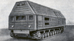 Reaktorové vozidlo TTP-3 na podvozku tanku T-10