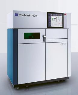 Kompaktní strojpro precizní a robustní 3D tisk, TruPrint 1000