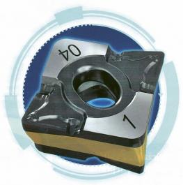 Obr. 1: Oboustranná soustružnická VBD řady Logiq4Turn