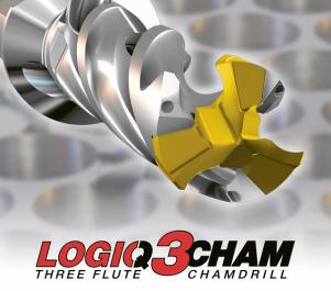 Obr. 2: Tříbřitá vyměnitelná hlavička řady Logiq3Cham