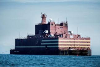 Plovoucí jaderná elektrárna Akademik Lomonosov /Zdroj: indiatoday.in/