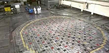 Reaktorová hala reaktoru Leningradské elektrárny /Foto: Rosatom/