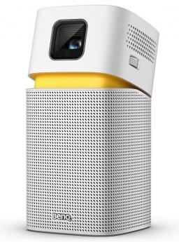Projektor o velikosti dlaně s možností Wi-Fi, Bluetooth nebo USB-C připojení