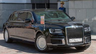 Ilustrační foto vládní limuzíny Aurus (foto: Reuters)