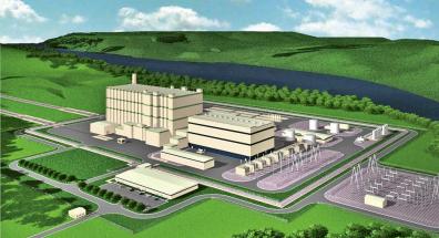 Vizualizace elektrárny společnosti TerraPower /Foto: TerraPower/