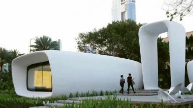 První tištěné kancelářské budovy v Dubaji