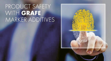 Účinné látky v markerové předsměsi jsou univerzálně použitelné ve všech termoplastech a jsou zcela nezničitelné obvyklými procesy zpracování.