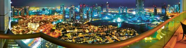 Abú Zabí se považuje za hi-tech metropoli, k vykrytí špiček se ovšem stále používají i dieselagregáty