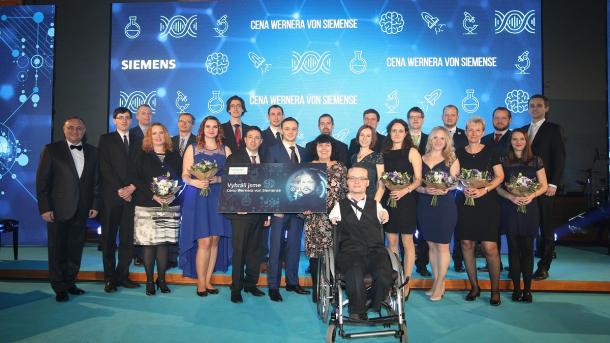 Ceny Wernera von Siemense uděleny nejlepším studentům, mladým vědcům  a pedagogům