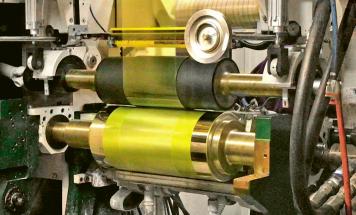 Tisk pětivrstvých perovskitových článků na vývojové lince americké společnosti energy Materials