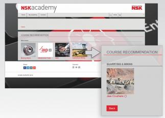 Registrovaní uživatelé najdou po přihlášení nový kurz na výchozí stránce akademie