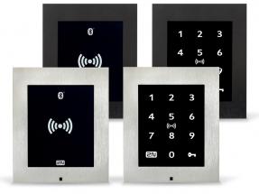 Nová generace přístupových jednotek 2N nabízí multifrekvenční RFID čtečku v kombinaci s Bluetooth a dotykovou klávesnicí