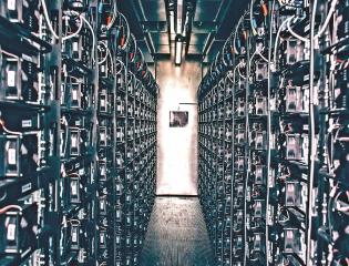 Pohled do akumulátorového úložiště v Mydlovarech, které bylo spuštěno v roce 2017 Foto: E.ON