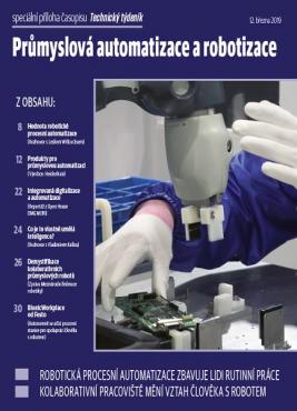 Průmyslová automatizace a robotizace - speciální příloha časopisu Technický týdeník