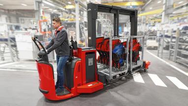 Vozík Linde Trolley Supply Truck