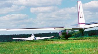 Obr. 4: Blaník L-13 na startu