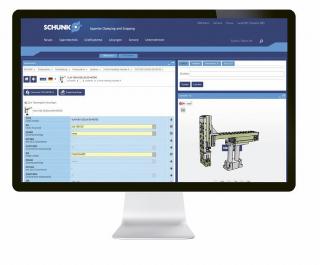V on-line konfigurátoru firmy SCHUNK pro montážní automatizaci lze realizovat celé systémy Pick & Place, nahrávat je jako skupiny sestav do programu CAD a vytvářet seznamy dílů jako objednávkové odkazy. Všechny díly jsou k dispozici jako inteligentní 3D-CAD modely