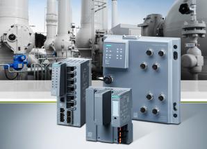 Switche průmyslového ethernetu se speciálními funkcemi pro procesní průmysl