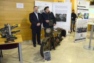 Na Fakultě strojní VŠB – Technické univerzity Ostrava vzniká za finanční podpory Moravskoslezského kraje Restaurátorská dílna motocyklů