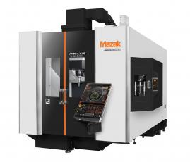 Vertikální obráběcí centrum VARIAXIS j-600 / 5X je ideální pro uživatele strojů, kteří vyžadují výjimečnou produktivitu, nebo pro ty, kteří začínají s pětiosým simultálním obráběním.
