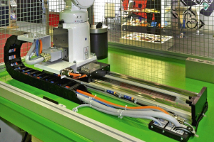 Polohovací dráhy HIWIN pro průmyslové roboty byly představeny na MSV Brno 2018