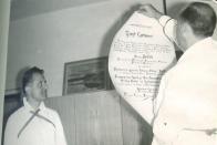 První cechovní přijímání do cechu chemiků,1966