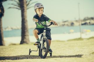 ŠKODA rozšířila i svou nabídku pro nejmladší zákazníky. Zahrnuje tři dětská kola, KID 16, KID 20 a nově větší model KID 24.