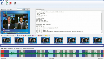Ukázka systému pro rozpoznávání řeči a objektů v televizním vysílání