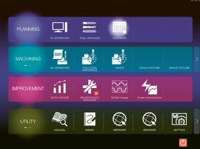 Obrazovka otevřeného systému s rozhraním FANUC iHMI