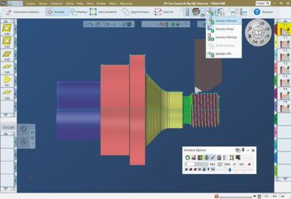 4. Grafická simulace součásti