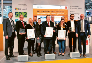 Vítězové soutěže Industrial Energy Efficiency Award