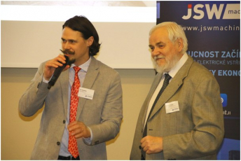 Jan Svoboda jr. s panem Lubomírem Zemanem
