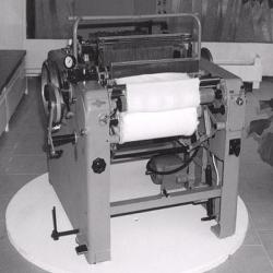 Původní tryskový stav - dnes exponát technických muzeí