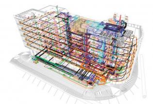 Ukázky možností využití BIM: Argentinská Office Building...