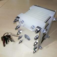 Vícekomorový modul šokové elektrodialýzy. Malý, zato jedinečný