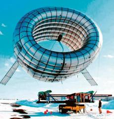 Futuristické pokusy MIT s létající větrnou elektrárnou pro arktické oblasti