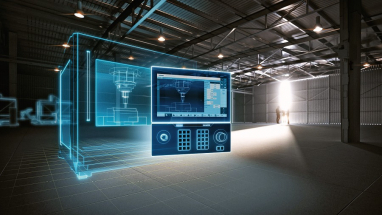 Systém Sinumerik ONE umožňuje bezproblémovou komunikaci mezi virtuálním a reálným světem a pomáhá výrazně zvýšit produktivitu a využití obráběcích strojů