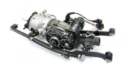 Motor využívaný v předchozích modelech JetSurf