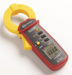 Měřicí přístroj s vysokou přesností a bezpečností slouží ke zvyšování efektivnosti systémů nalézáním svodových proudů i pouhých 0,001 mA.