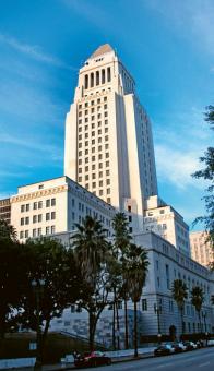 Historická radnice Los Angeles ve stylu art deco